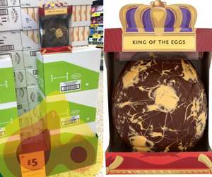 King of the eggs 800g Morrison's reduced to £5 instore