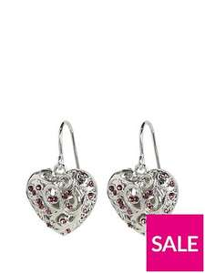 Fiorelli scrolled cage dropper earrings £9 @ Very