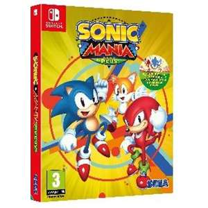 Sonic Mania Plus (Switch) £27.99 (PS4/XO) £24.99 Delivered (Preorder) @ 365games