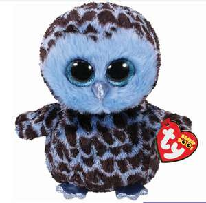 Ty Beanie Boo Small Yago the Owl Soft Toy £1.50 plus buy one get one 50% off at Claire's! Free c&c