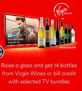 VIRGIN vivid 50 fibre broadband ~ Player TV ~ Talk wknd. Free wine or bill credit!! £29 p/m 12 months £20 activation fee  £368