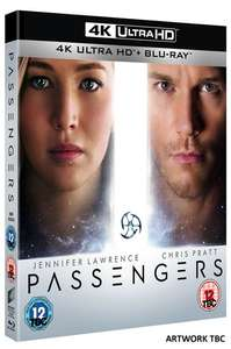Passengers (4K Ultra HD + Blu-ray + Digital HD) [UHD] 2 4K Ultra HD for £20 @ Zoom