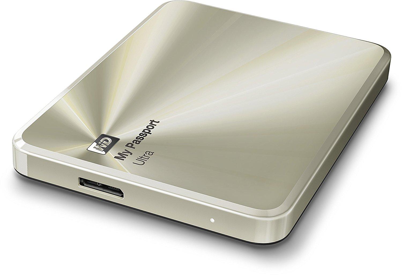 MY PASSPORT ULTRA METAL (RECERTIFIED) *dell boy gold*  1 TB USB 3 - £34.99 @ westerndigital