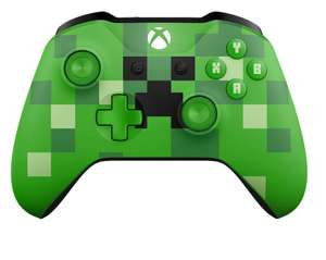 OFFICIAL XBOX ONE WIRELESS CONTROLLER - MINECRAFT CREEPER £39.95 @ TheGameCollection