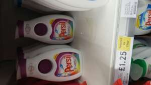 Persil colour and fibre care 25 wash £1.25 Tesco instore