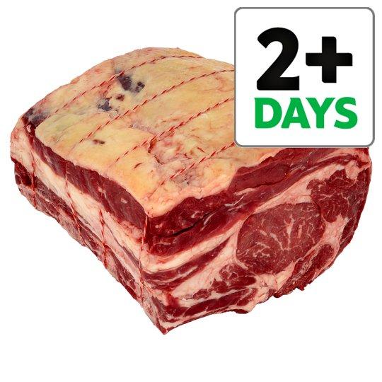 British Beef Bone In Rib Joint £10.50 - Tesco Counter