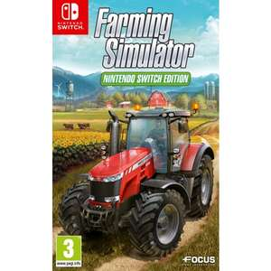 FARMING SIMULATOR - NINTENDO SWITCH EDITION £19.95 @ TheGameCollection