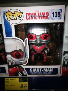 B&M. Pop Vinyl Giant man £9.99 instore Northfield. Maybe nationwide