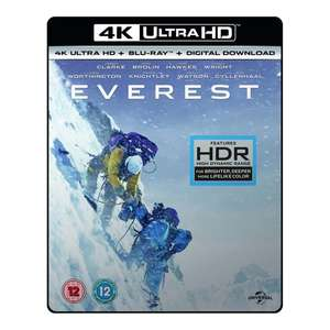 Everest 4K UHD Blu-ray £7.99 @ 365 Games