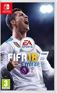 FIFA 18 [Nintendo Switch] £21.85 at ShopTo and Amazon