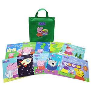 Peppa Pig Collection - 10 Books (Collection) - £12.99 / £15.94 Delivered @ The Book People