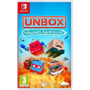 Unbox: Newbie's Adventure [Nintendo Switch] £17.95 at The Game Collection