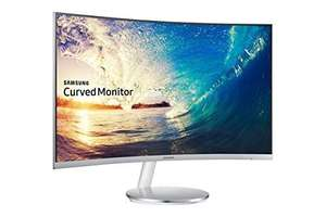Samsung C27F591 27 inch Curved LED Monitor - White/Silver - £229.99 @ Amazon