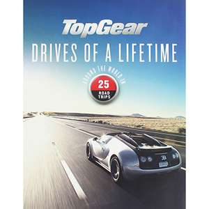 Top Gear Drives of a Lifetime (Hardback) - £5.49 / £8.44 delivered @ The Book People