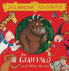 The Gruffalo and Other Stories 8 CD Box Set Audio CD – Audiobook £12.99 delivered @ Amazon
