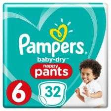 Pampers baby dry nappies & pants half price £4.00 @ tesco.