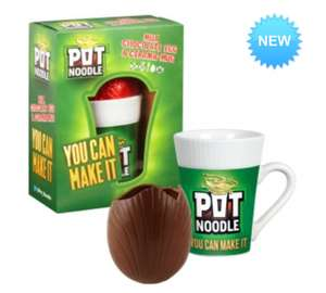 Pot Noodle Mug & Easter Egg only £2.99 @ B&M Bargains