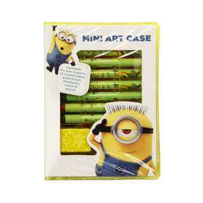 DESPICABLE ME MINI ART CASE 50p at Poundstretcher