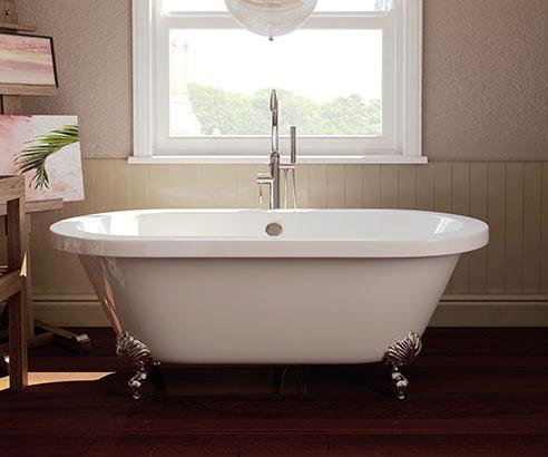 Big Roll Top Bath £138.99 / £178.94 delivered @ Bathrooms.com