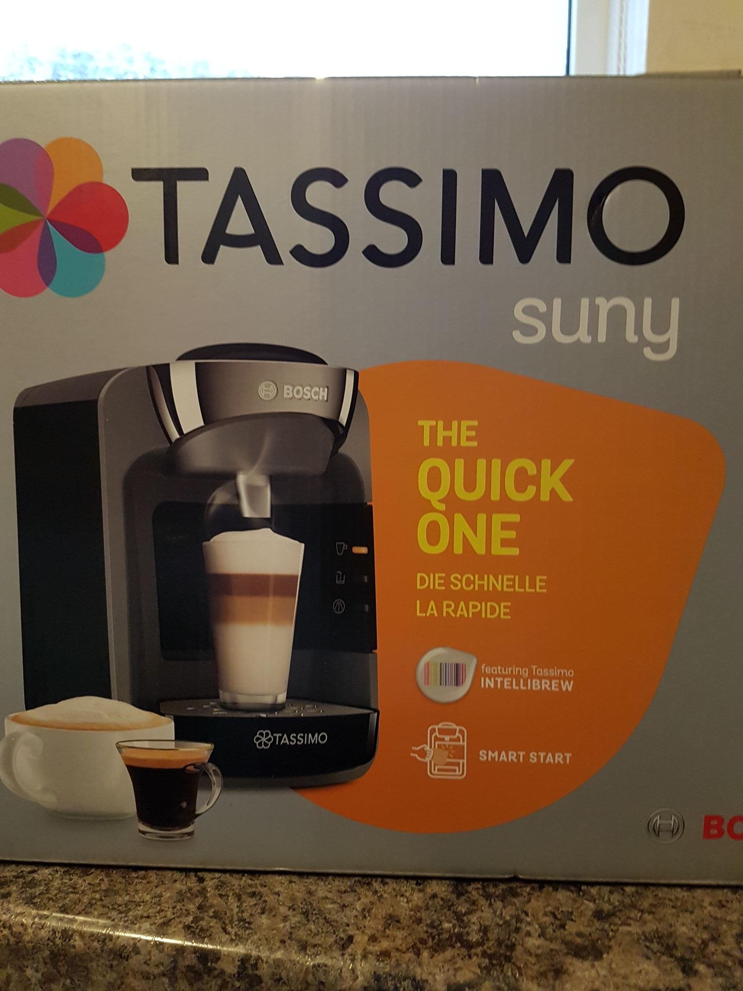 Bosch Tassimo Suny T32 Black - £39 @ Tesco Aberdare In-store