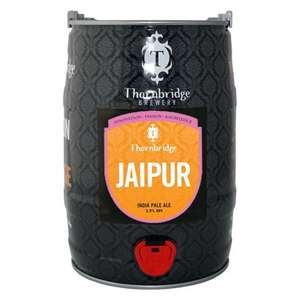 Thornbridge Jaipur 5l Mini Cask £15 at Tesco
