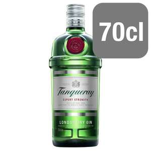 Tanqueray London Dry Gin 70cl £15 @ Tesco