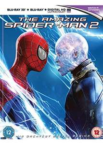 Amazing Spiderman 2 3D Blu-Ray (plus Blu-Ray/UV copy) £3.59 @ Base