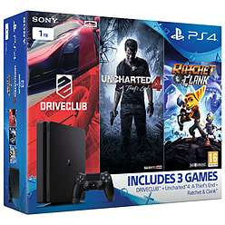 PS4 1TB Triple Pack (Uncharted 4 + Ratchet & Clank + Driveclub) - £199.99 @ GAME