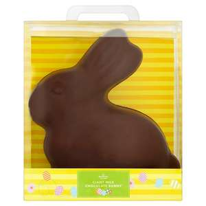 Giant morrisons milk chocolate bunny 600g NOW ONLINE - £5