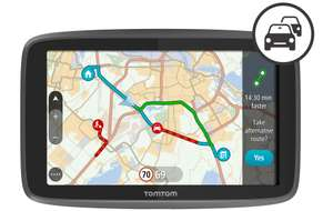 TomTom GO 6200 with Wi-Fi, World Maps and smartphone enabled TomTom Traffic £215 @ Halfords