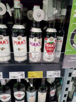 Pimms BlackBerry & Elderflower Special Edition 70cl 20%vol - Asda - £7.75