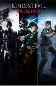 Resident evil 4,5 and 6 triple set £16 @ Microsoft Store