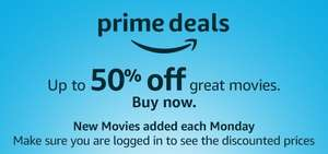 Up to 50% off Amazon Video titles - as low as £1.99 for HD purchase (Prime subscribers only)