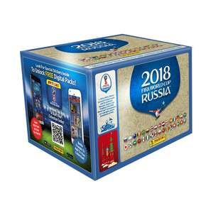 FIFA World Cup 2018 Sticker Collection - 100 Pack £60.29 with code at 365games