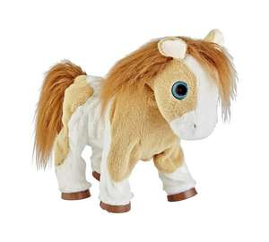 Fluffy Friends Animated Pony Soft Toy for £5.99 @ Argos