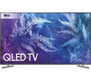 """Samsung QE55Q6FAMT 55"""" Smart 4K QLED TV with 5 Years Warranty  £879.00 Currys"""
