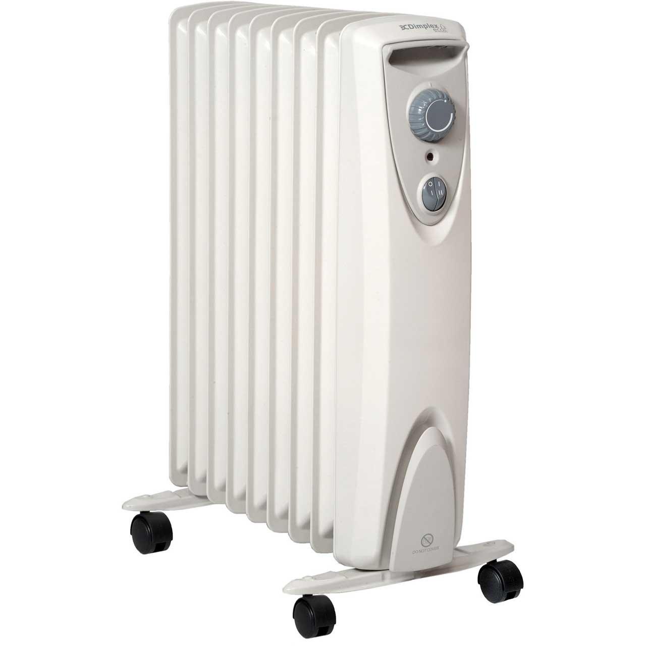 Dimplex OFRC20N 2kW Oil Free Heater - Allersafe £59.99