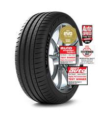 Michelin Pilot Sport 4 (225/40/18) 92Y XL (SET OF 4) - £332.30 at BlackCircles