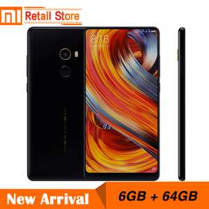 Global Version Xiaomi Mi MIX 2 6GB 64GB 5.99 Inch 18:9 Screen Snapdragon 835 Octa Core CPU Ceramic Body Full Screen Display £264.77 @ Ali Express / Xiaomi Retail Store