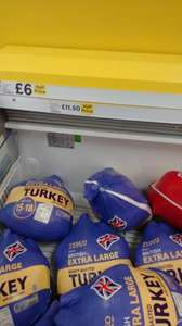 Tesco special offers on Turkeys - Half Price instore - Bramley Leeds