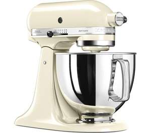 OMG this deal is great! The offer is for more than one colour KITCHENAID 5KSM125BAC Artisan Tilt-Head Stand Mixer - Almond Cream £329 @ Currys