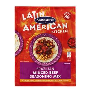 Free Sachet of Fajita Seasoning Mix @ Sainsbury's (Online only)