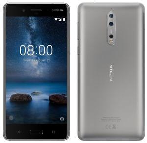 Nokia 8 64GB Steel Refurb Grade B  - Excellent Condition £274.97 techsave2006 / Ebay