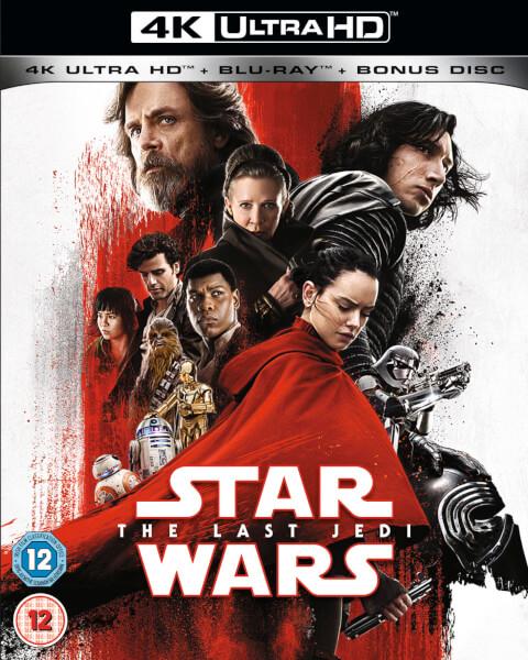 The Last Jedi - 4K Ultra HD Blu-ray  Availability: Preorder now  Release Date: 09 April 2018 £24.99 @ Zavvi