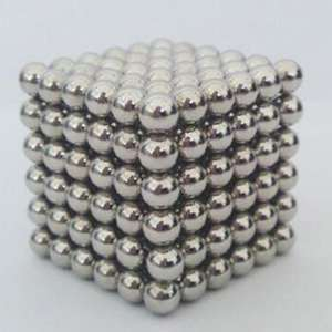 216 Pcs 3mm Education Toys Magnet Toys Multi Molding Magnetic Balls - Silver £3.87 at  RoseGal