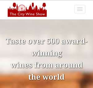 Half-price tickets to this exhibition of over 500 wines was £35 now £17.50 at Time Out