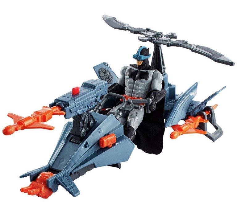 Justice League Batman & Batcopter Vehicle And Figure £18.49 Argos
