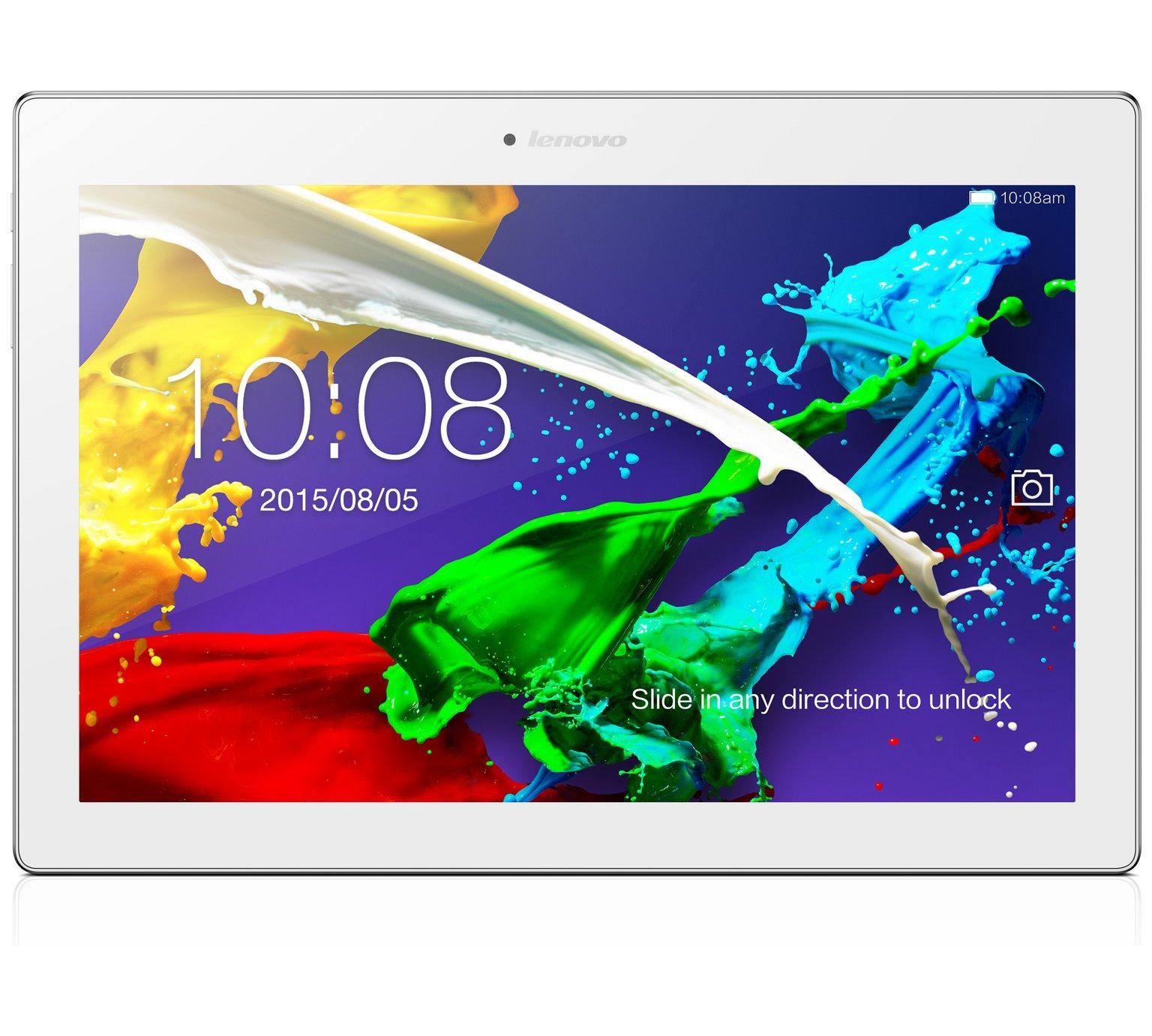 Lenovo Tab 2 A10 16Gb Tablet - Pearl white + £10 voucher - £139.99 @ Argos