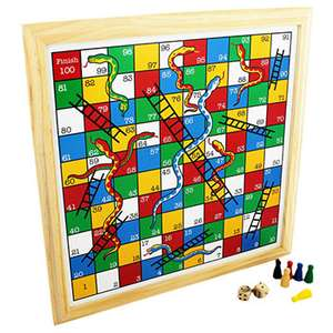 Snakes And Ladders £4 @ The works free c&c