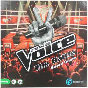 The Voice The Battle Board Game £6 @ the works - Free c&c